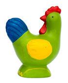Green chicken — Stock Photo