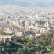 City of Athens with mountains on the background - Stock Photo