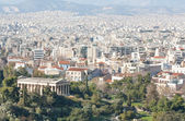 City of Athens with mountains on the background — Stock Photo