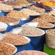 Dried Fruit and Nuts in Market — Stock Photo #13680317