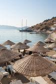 Beach in Bodrum, Turkey — Stock Photo