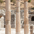 Stock Photo: Ancient columns in Ephesus, Turkey