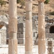 Ancient columns in Ephesus, Turkey — Stock Photo