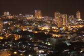 Vedado kvartalet på natten, havanna, kuba — Stockfoto