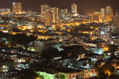 Vedado Quarter at night, Cuba — Stock Photo