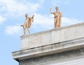 Apollo and Hera in Athens, Greece — Stock Photo