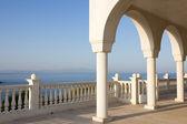 Balcony in Greece — Stock Photo