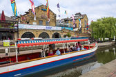 Camden Lock in London — Stock Photo