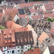 Nuremberg rooftops — Stock Photo