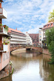 Fleisch Bridge in Nuremberg, Germany — Stock Photo