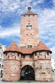 Weisser Turm in Nuremberg — Stock Photo