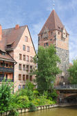 Schuldturm Tower in Nuremberg, Germany — Stock Photo