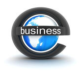 Symbol e-business — Stock Photo