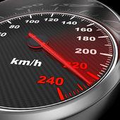 Car Speedometer — Stock Photo