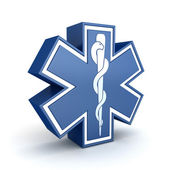 Star of life — Stock Photo