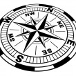 The compass — Stock Photo