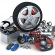 Car parts — Stock Photo
