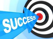 Abstract success — Stock Photo
