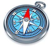 Compass 3d — Stock Photo