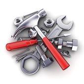 Tools isolated — Stock Photo