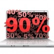 Laptop 90 — Stock Photo
