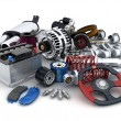 Car parts — Stock Photo #40946637