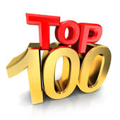 Top 100 award — Stock Photo