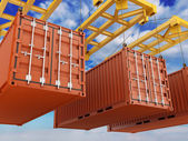 Loading Container — Stock Photo
