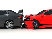 Car crash  — Stock Photo