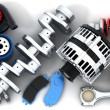Car parts  — Stock Photo #48996725