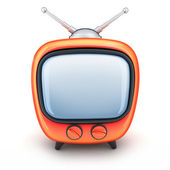 Portakal tv — Stok fotoğraf