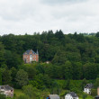 Mansion in the ardennes - Stock Photo