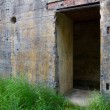 Door of WW2 bunker — Stock Photo #12402276