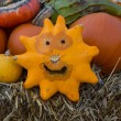 Happy pumpkin — Stock Photo
