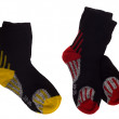 Black sport socks - Stock Photo