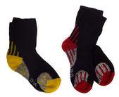 Black sport socks — Stock Photo