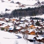 Dorf im suisse — Stockfoto