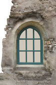 Window in old wall — Stock Photo