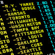 Baseball betting — Foto de Stock