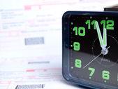 Billing time — Stock Photo