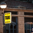 Royalty-Free Stock Photo: Taxi sign