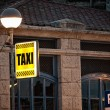 Taxi sign — Stock Photo #13881951
