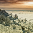 Winter sunset - Stockfoto