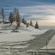 Idyllic winter - Foto Stock