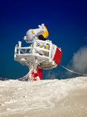 Snow canon — Stock Photo
