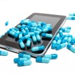 Tablet and pills — Stockfoto