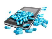 Tablet and pills — Stock Photo