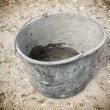Masonry bucket — Stock Photo