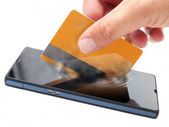 Mobile payment — Stock Photo