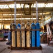 Gas cylinders — Stock Photo #3470713